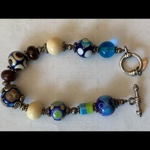 Bracelet Murano hand blown glass